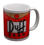 The Simpsons Mug - Duff Beer
