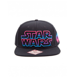 Star Wars Snap Back Baseball Cap Pink / Blue Logo