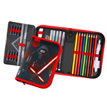 Star Wars Episode VII 30-Piece Pencil Case with content Kylo Ren