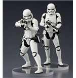 Star Wars Episode VII ARTFX+ Statue 2-Pack First Order Snowtrooper 18 cm