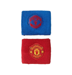 2016-2017 Man Utd Adidas Wristbands (Blue-Red)