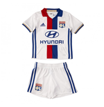 2016-2017 Olympique Lyon Adidas Home Little Boys Mini Kit