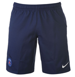 2016-2017 PSG Home Nike Football Shorts (Kids)