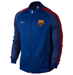 2016-2017 Barcelona Nike Authentic N98 Jacket (Royal Blue)