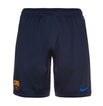 2016-2017 Barcelona Nike Longer Knit Shorts (Navy)