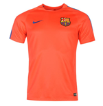 2016-2017 Barcelona Nike Training Shirt (Crimson)