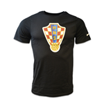 2016-2017 Croatia Nike Core Crest Tee (Black)
