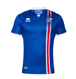 2016-2017 Iceland Home Errea Football Shirt