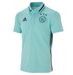 2016-2017 Ajax Adidas Polo Shirt (Clear Aqua)