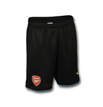 2016-2017 Arsenal Home Goalkeeper Shorts (Black)
