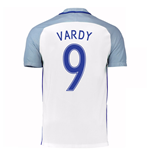 2016-17 England Home Shirt (Vardy 9)