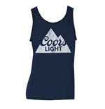 COORS Light Men's Dark Navy Tank Top