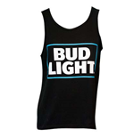 Men's BUD LIGHT Black Tank Top