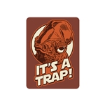 Star Wars Metal Magnet - It's A Trap