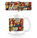 Iron Man Mug - Iron Man Panels