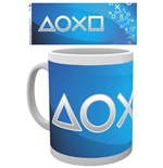 PlayStation Mug - Silver Buttons