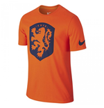 2016-2017 Holland Nike Core Crest Tee (Orange)