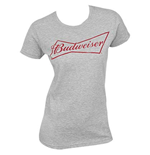 BUDWEISER Women's Grey Tee Shirt