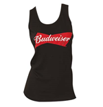 BUDWEISER Women's Black Tank Top