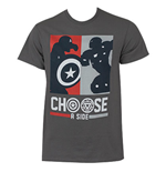 CAPTAIN AMERICA Civil War Choose A Side Tee Shirt