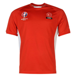 Turkey UEFA Euro 2016 Poly Training Tee (Red)
