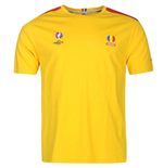 Romania UEFA Euro 2016 Core T-Shirt (Yellow)
