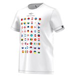 Adidas Euro 2016 Road to France Tee (White)