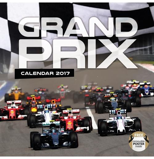 Formula 1 2017 Calendar for only C$ 14.00 at MerchandisingPlaza CA