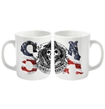 Sons Of Anarchy Mug Usa Logo