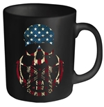 Sons Of Anarchy Mug Usa Skull