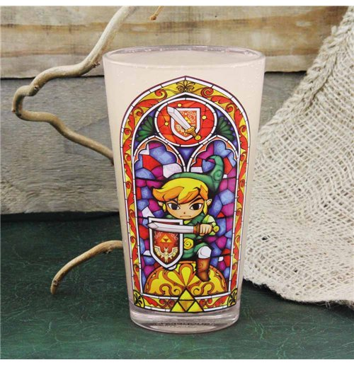 The Legend of Zelda Glass - Link