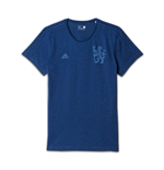 2016-2017 Chelsea Adidas Graphic BST Tee (Blue)