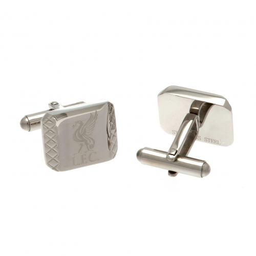Liverpool F.C. Stainless Steel Cufflinks PT