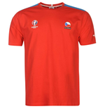 Czech Republic UEFA Euro 2016 Core T-Shirt (Red)