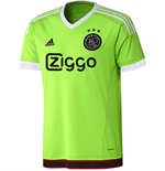 2015-2016 Ajax Adidas Away Football Shirt