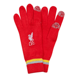 2015-2016 Liverpool Knit Gloves (Red) - Kids