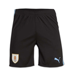 2016-2017 Uruguay Puma Home Shorts (Black)