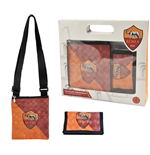 AS Roma shoulder bag + wallet