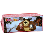 Masha and the Bear (Pink) pencil case
