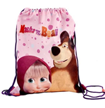 Masha and the Bear (Dots) bag for shoes