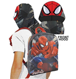 Spiderman (C) backpack with hoodie