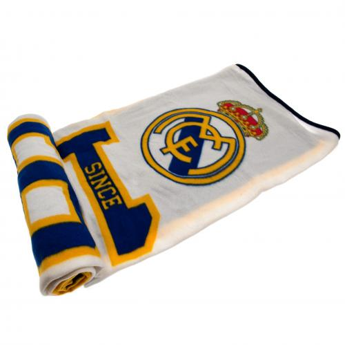 Real Madrid F.C. Fleece Blanket ES