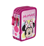 Minnie Mouse (CE) pencil case triple filled (2)