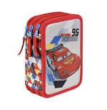Cars (CE) pencil case triple filled
