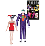 Batman The Animated Series Action Figure 2-Pack The Joker & Harley Quinn Mad Love 2nd Ed. 15 cm
