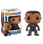 Captain America Civil War POP! Vinyl Bobble-Head Black Panther (Unmasked) 9 cm