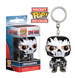 Captain America Civil War Pocket POP! Vinyl Keychain Crossbones 4 cm