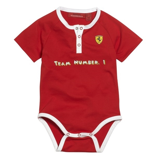 Ferrari  Baby Bodysuit - Red