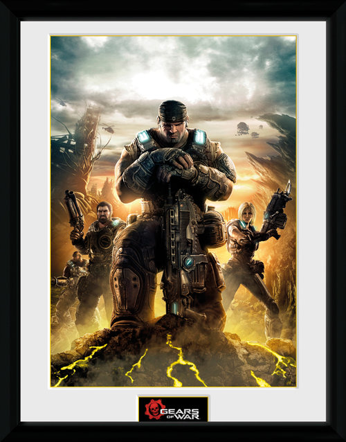 Gears Of War 4 Gears 3 Framed Collector Print