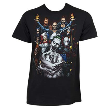 SUICIDE SQUAD Group Shot Tee Shirt